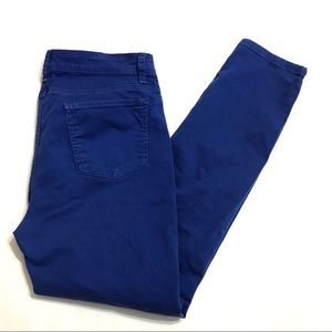 Eileen Fisher Royal Blue Skinny Jeans